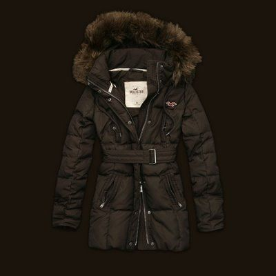 Womens winter coat brown – Novelties of modern fashion photo blog